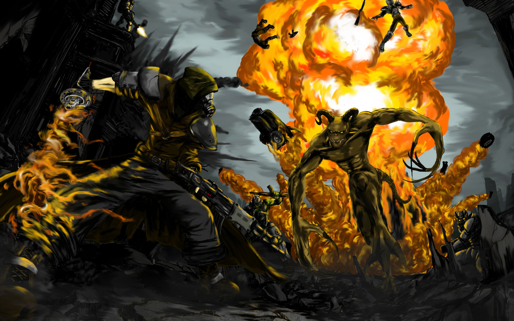 <b>Fallout 2</b> Enclave <b>Wallpaper</b> by Oldhat104 on DeviantArt