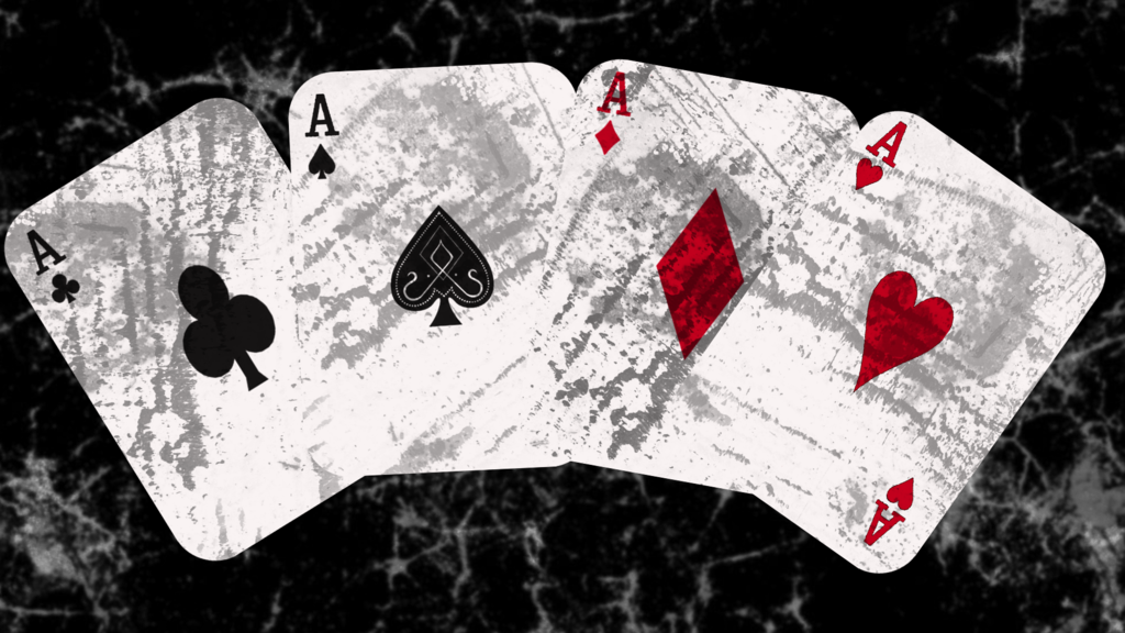 playing card aces hd wallpaper by matthaius d642bhk Amazing Playing 1024x576