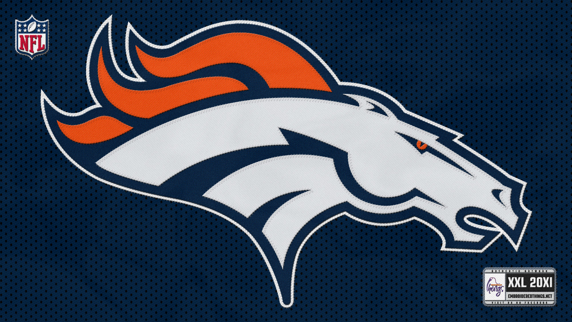 Denver Broncos Logo Hd Wallpaper The best denver broncos 2000x1125