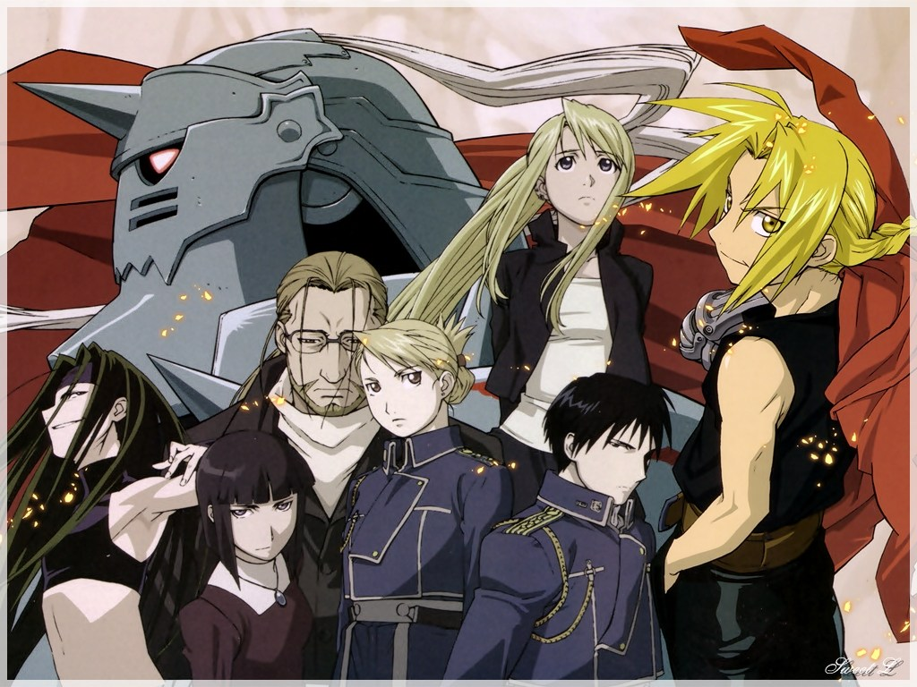 FMA   Full Metal Alchemist Wallpaper 32247321 1024x768