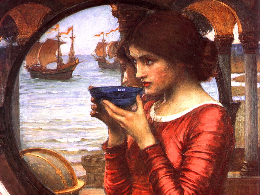 Free Download J W Waterhouse Wallpapers 1024x768 For Your