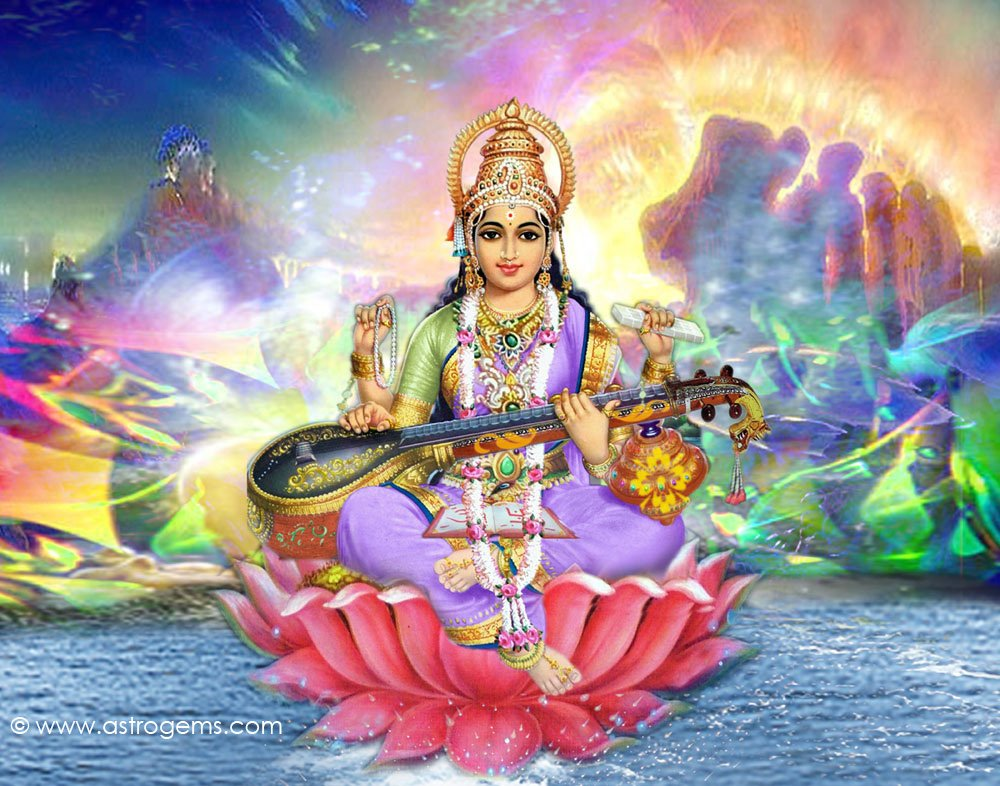 Maa Saraswati Wallpapers 1000x786