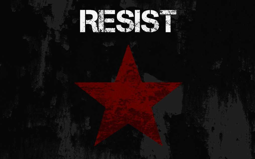 Socialist Rose Wallpaper Resist wallpaper by 1024x640