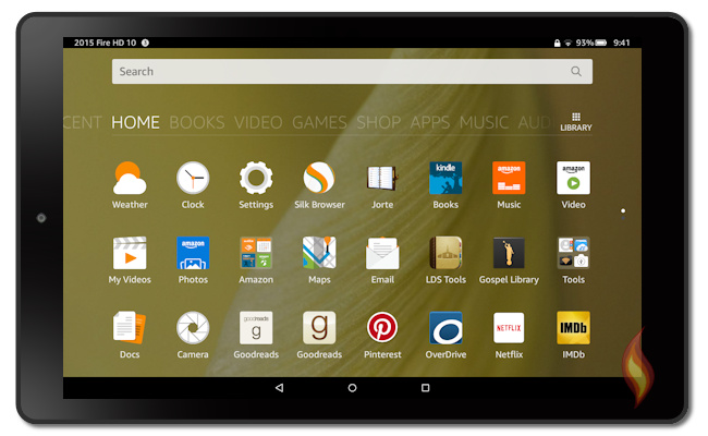 Amazons 2015 Fire tablets have a new operating system OS version 5 650x400