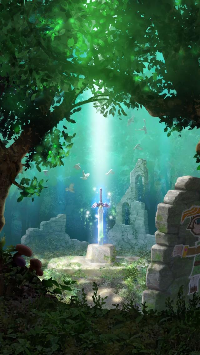 The Legend of Zelda Wallpaper Art The Legend of Zelda 2015 game 640x1138