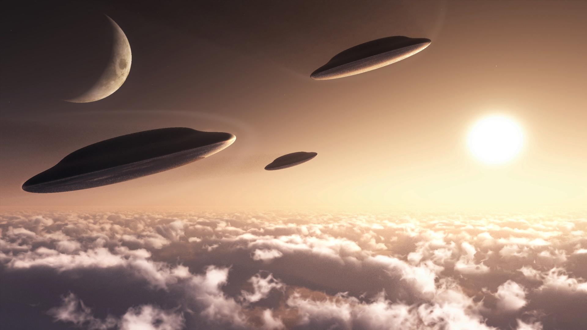 UFO Wallpaper 1920x1080