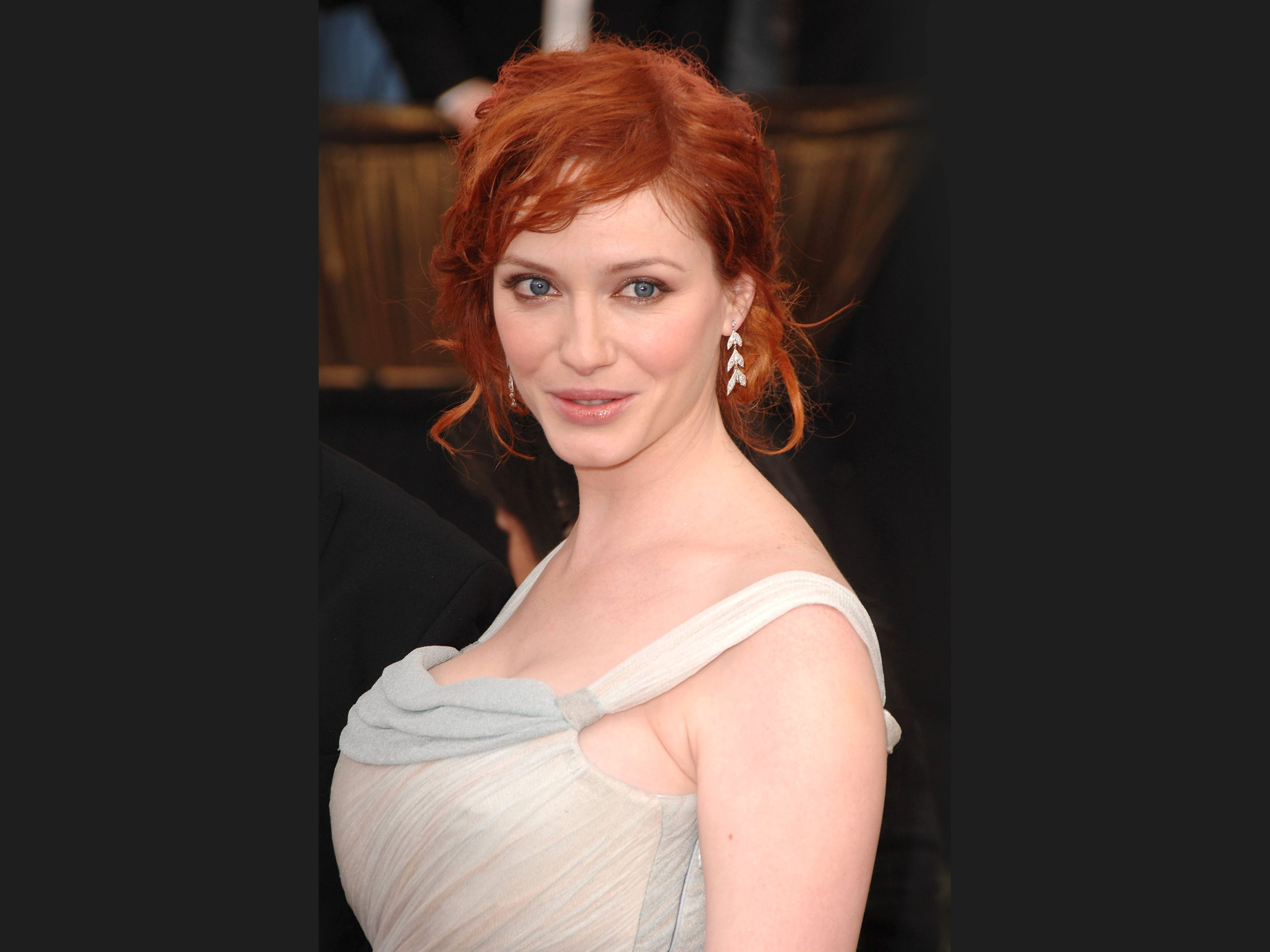 Christina Hendricks HD Wallpapers for desktop download 2560x1920
