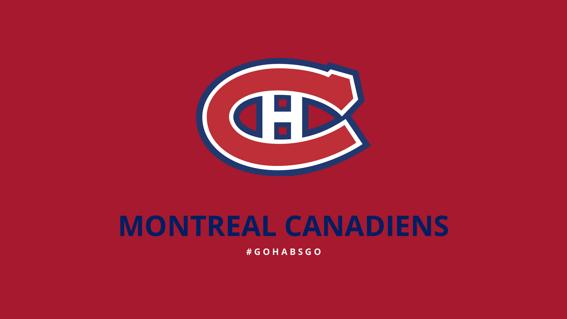 Minimalist Montreal Canadiens wallpaper by lfiore 1920x1080