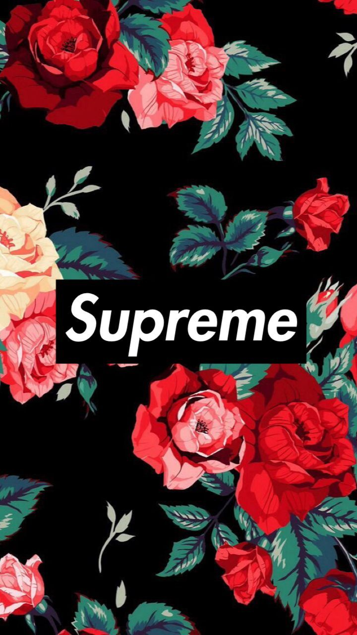 Supreme Floral iPhone Wallpapers   Top Supreme Floral iPhone 720x1278