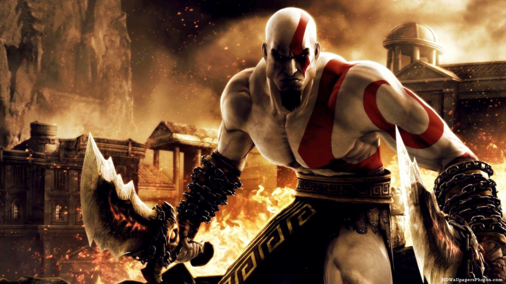 Kratos wallpaper hd wallpapersafari - God of war wallpaper hd 3d ...