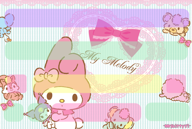 my melody wallpaper for iphone wallpapersafari