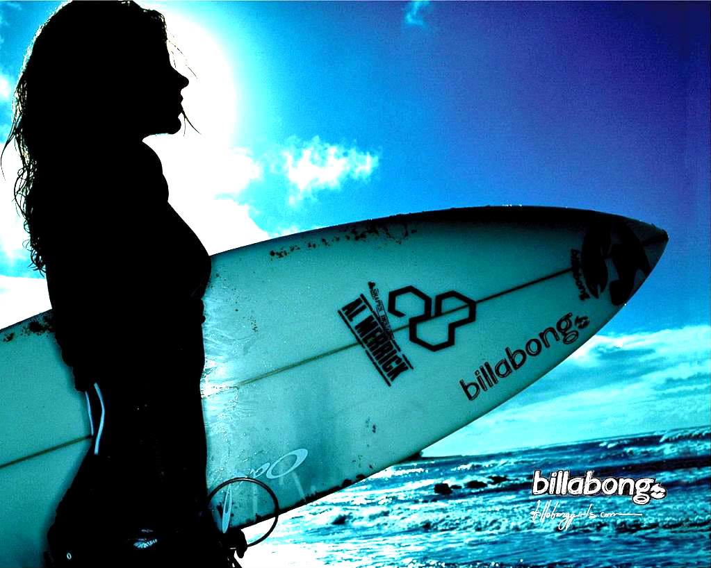 Billabong Girl Surfer Wallpaper Surf wallpaper billabong