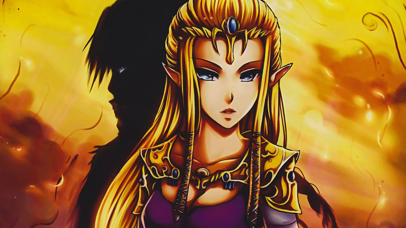 Princess Zelda wallpaper 18435 1366x768