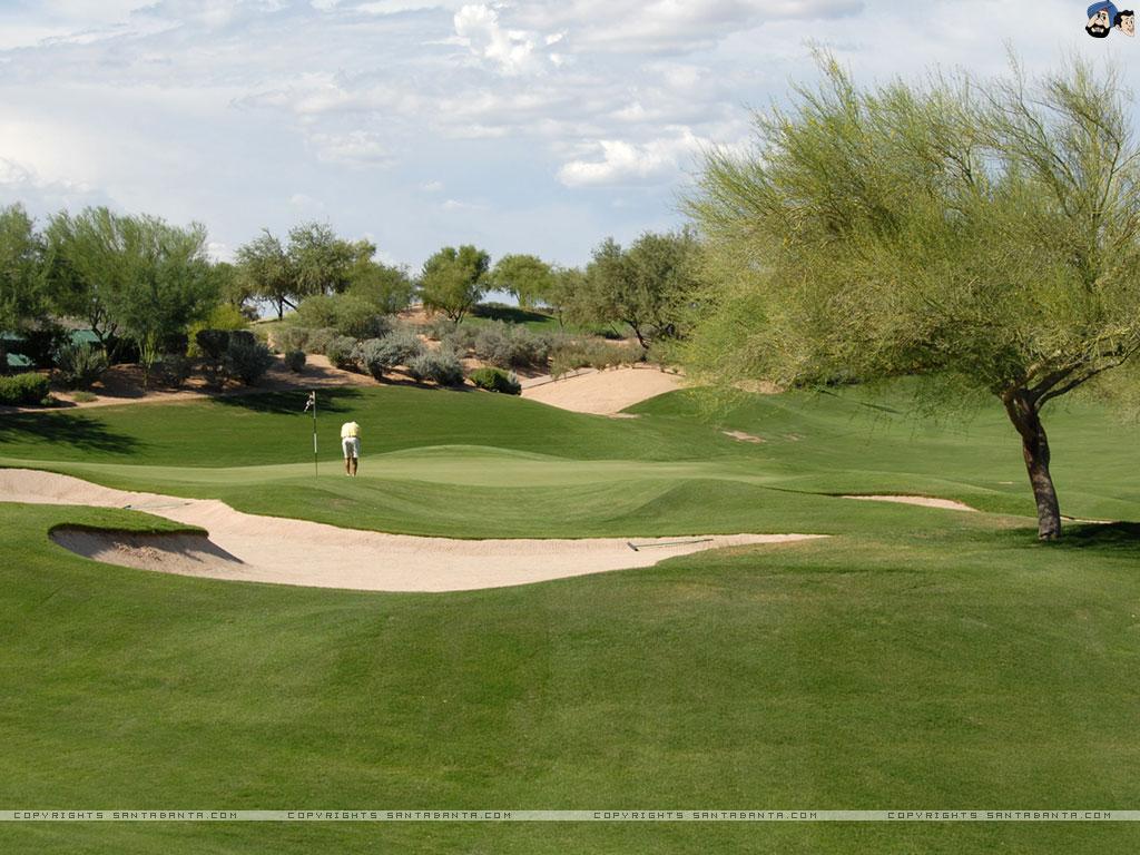 Golf Course Wallpaper 32 1024x768