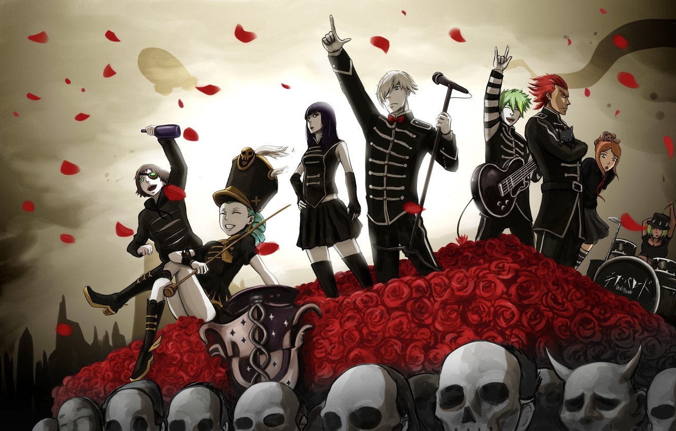 Wallpaper art concert characters death parade images for 1332x850