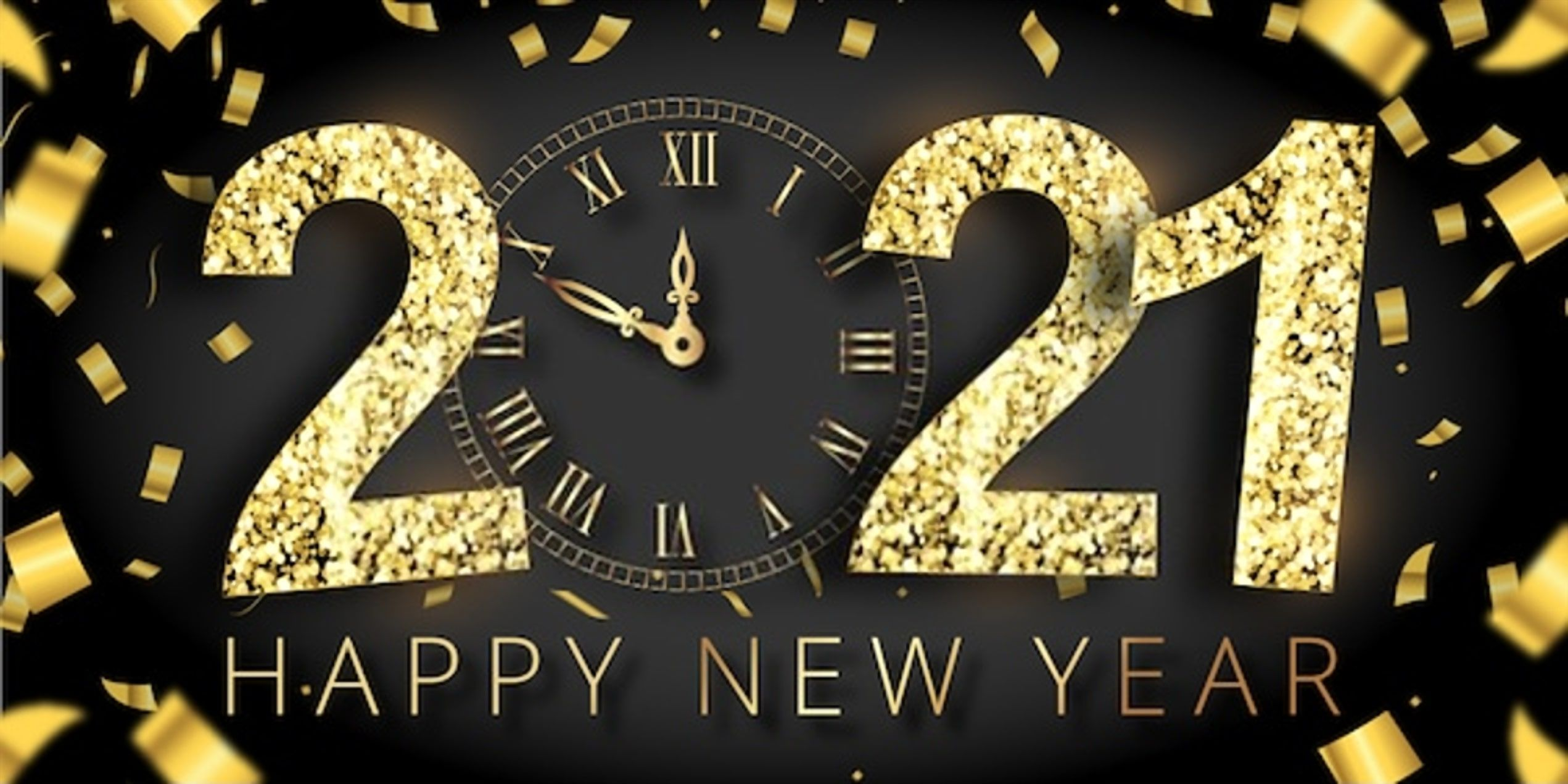 Happy New Year 2021 Wallpapers   Top Happy New Year 2021 2542x1271