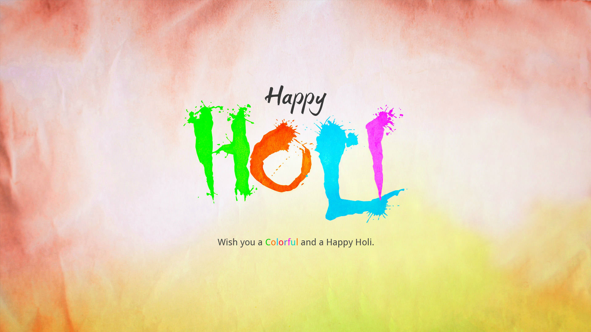 Download 2015 Happy Holi Wallpaper Most HD Wallpapers Pictures 1920x1080