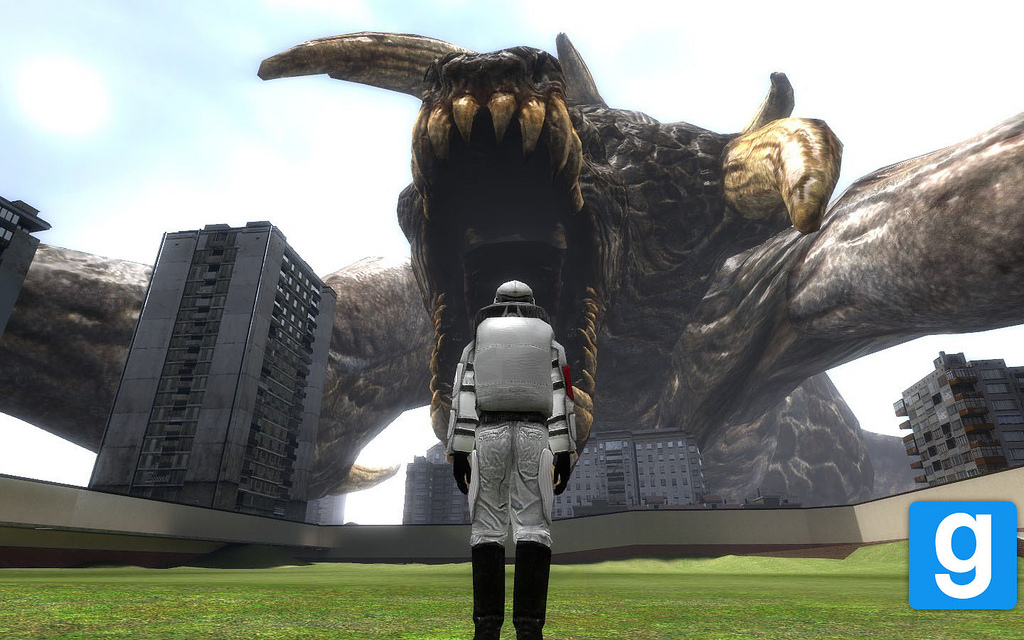 Free Download Giant Gmod Monster Wallpaper Flickr Photo