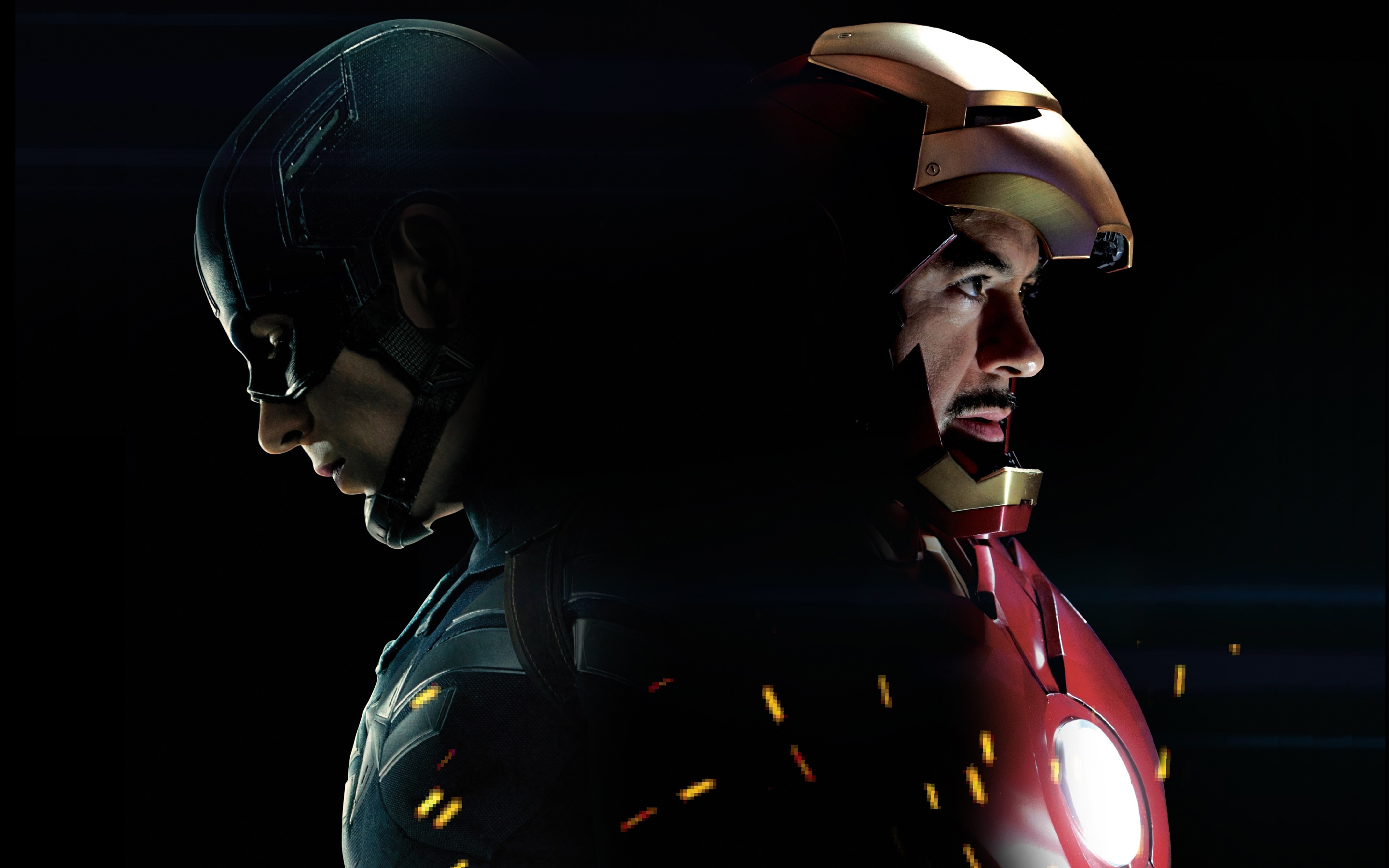 Captain America 3 Civil War Iron Man Wallpapers HD Wallpapers 2880x1800