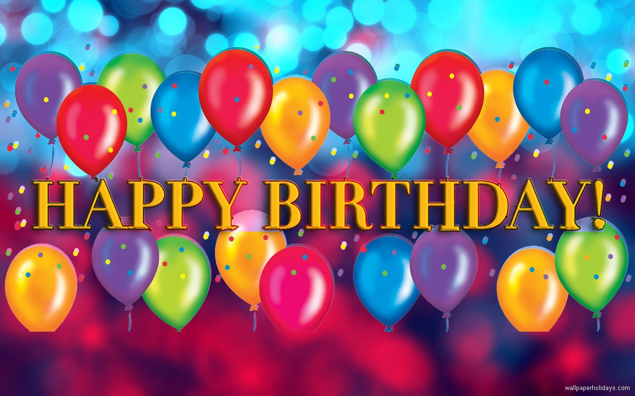 Description Download banners birthday wallpapers for Decorate 1280x800