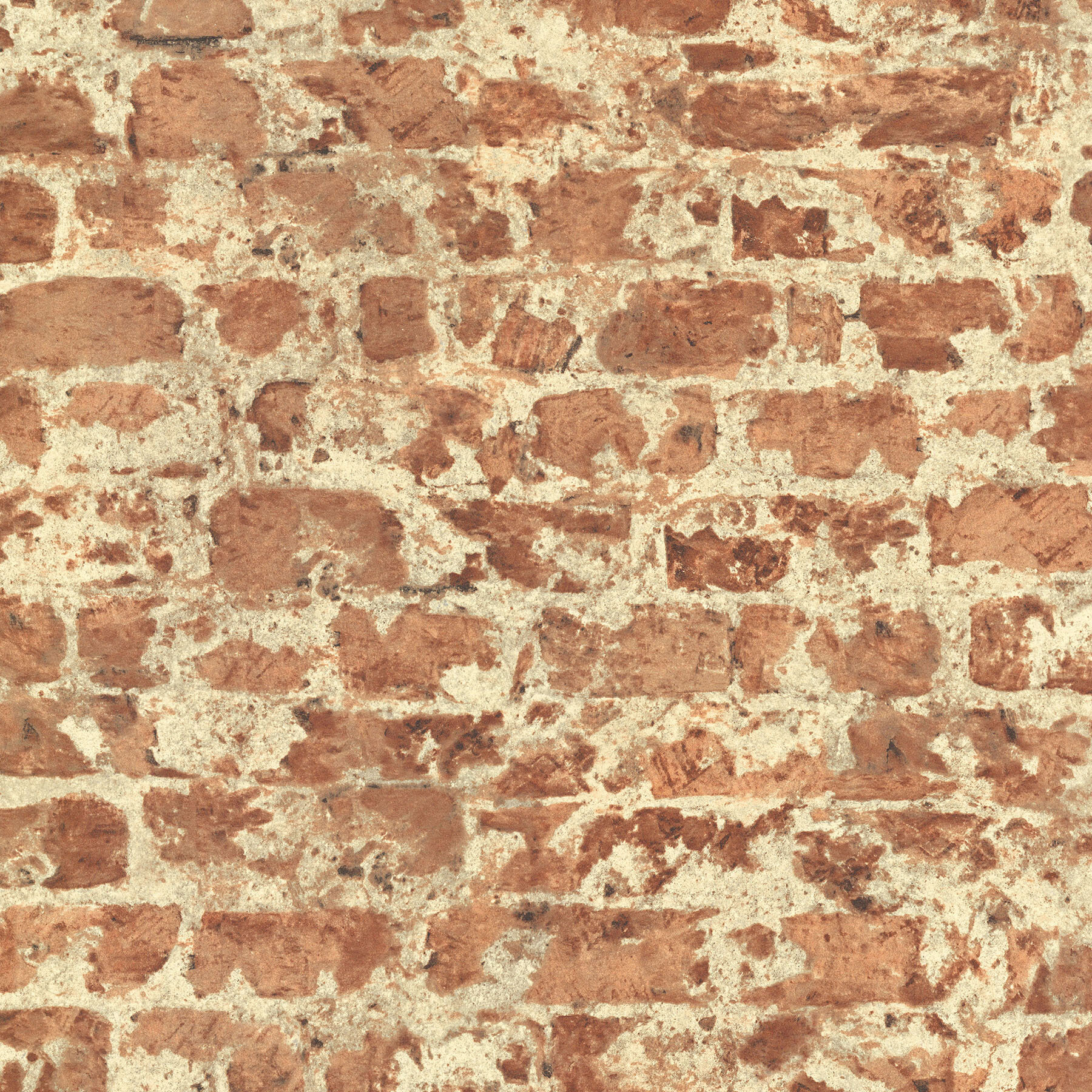 Wrought Studio Friar 33 L x 205 W Brick Wallpaper Roll Wayfair 1800x1800