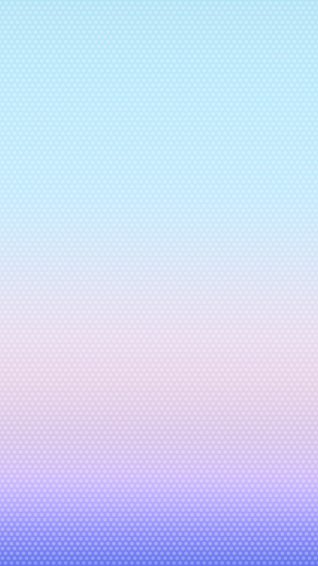 Grab the iOS 7 Default Wallpapers for iPhone iPod touch 640x1136