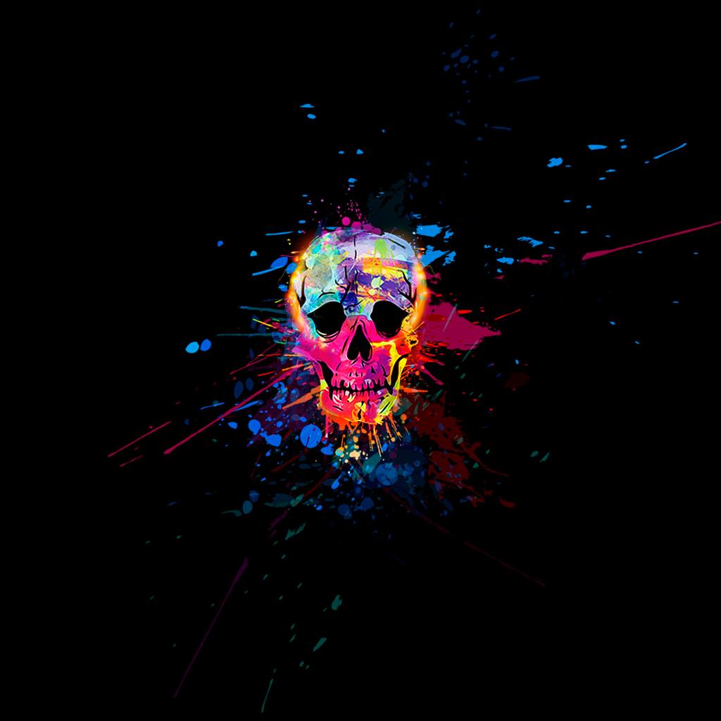 Free Download Colorful Skull Desktop Backgrounds