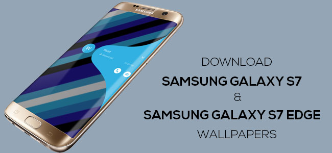 Download Official Samsung Galaxy S7S7 Edge Wallpapers 650x300
