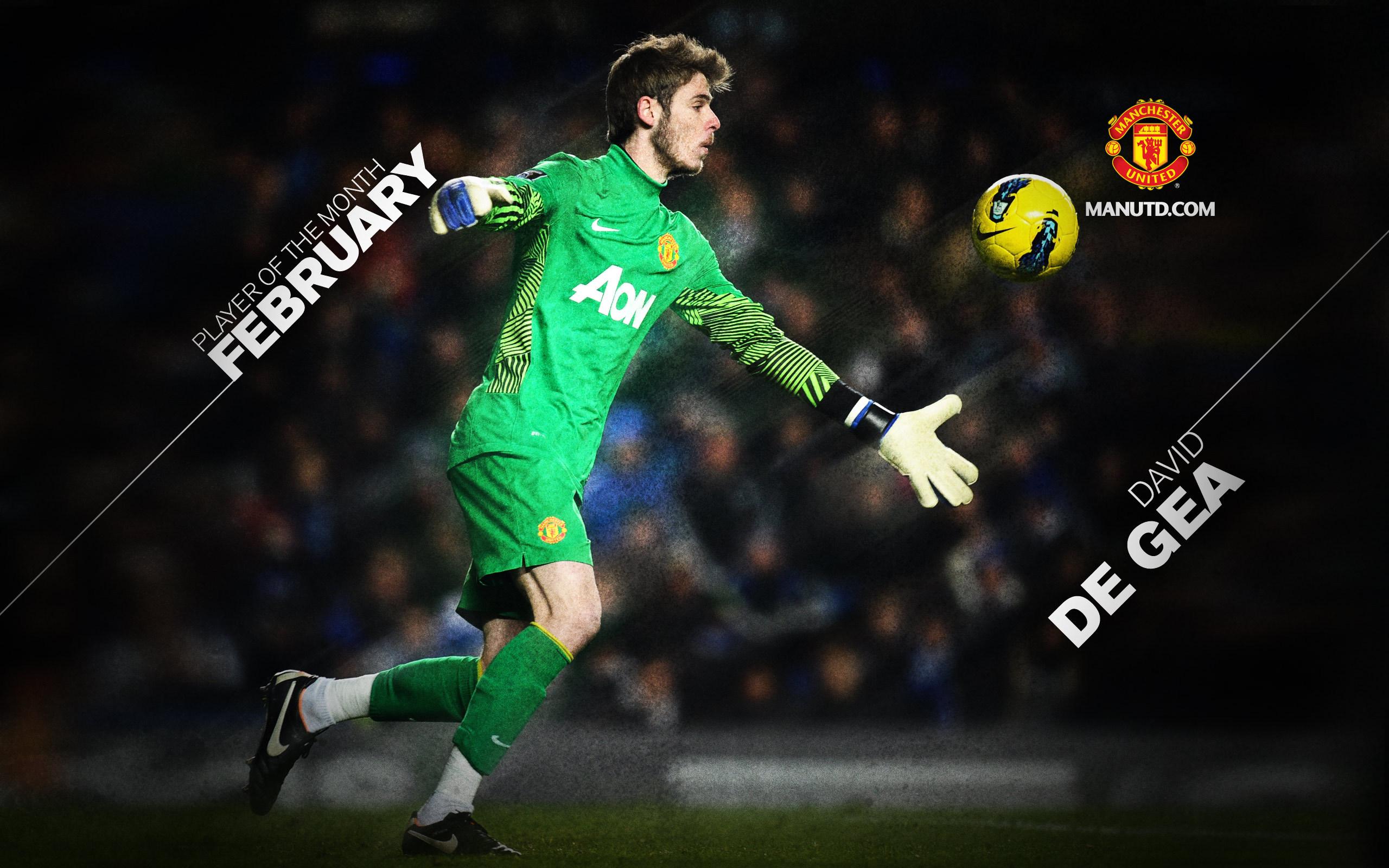 The Goalkeeper Of Manchester United David De Gea Catching   David 2560x1600