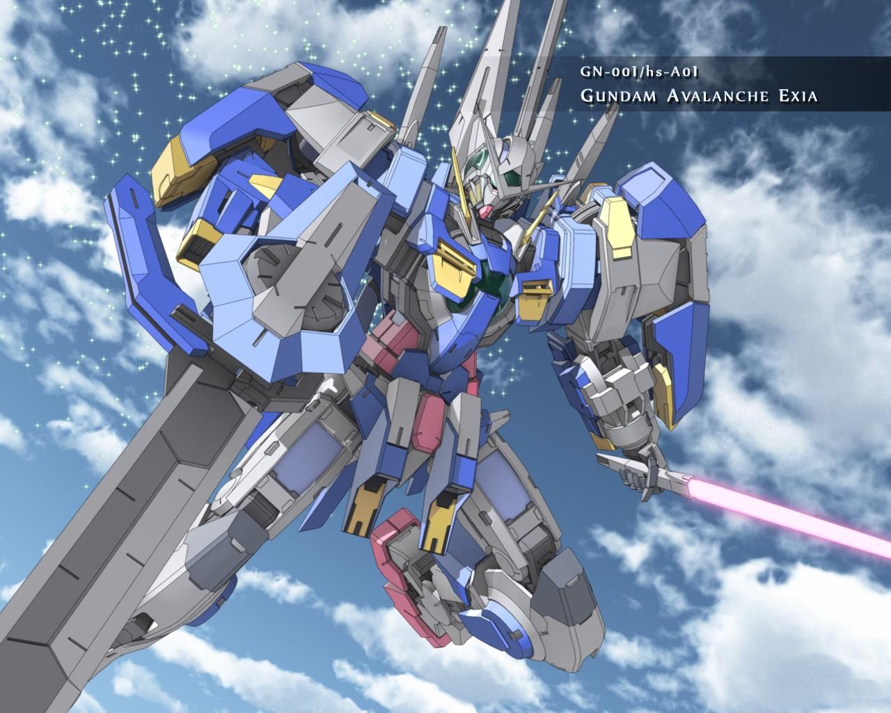 Gundam Avalanche Exia   Gundam Wallpaper 25015972 1280x1024