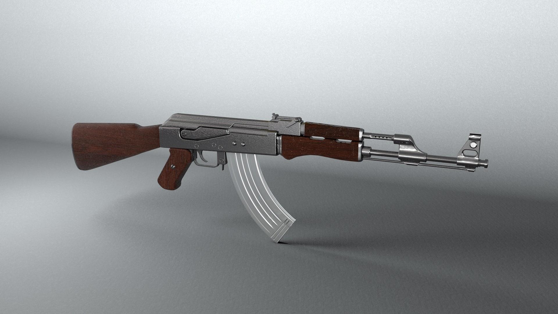 Weapons   Ak 47 Wallpaper 1920x1080