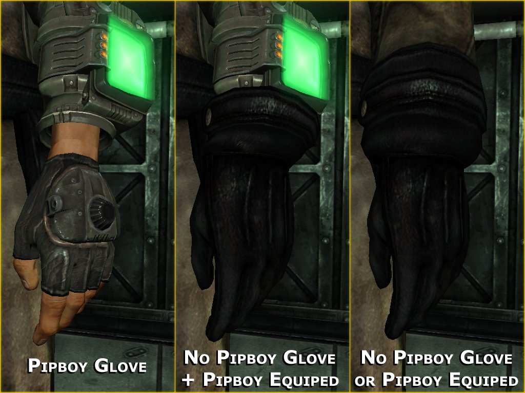 Download Fallout 3 Mod RD Enclave Officer Glove Fix 10 Softpedia 1024x768