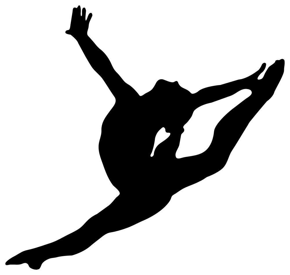 Gymnastics Silhouette Clip Art Download Gymnastics 1000x951
