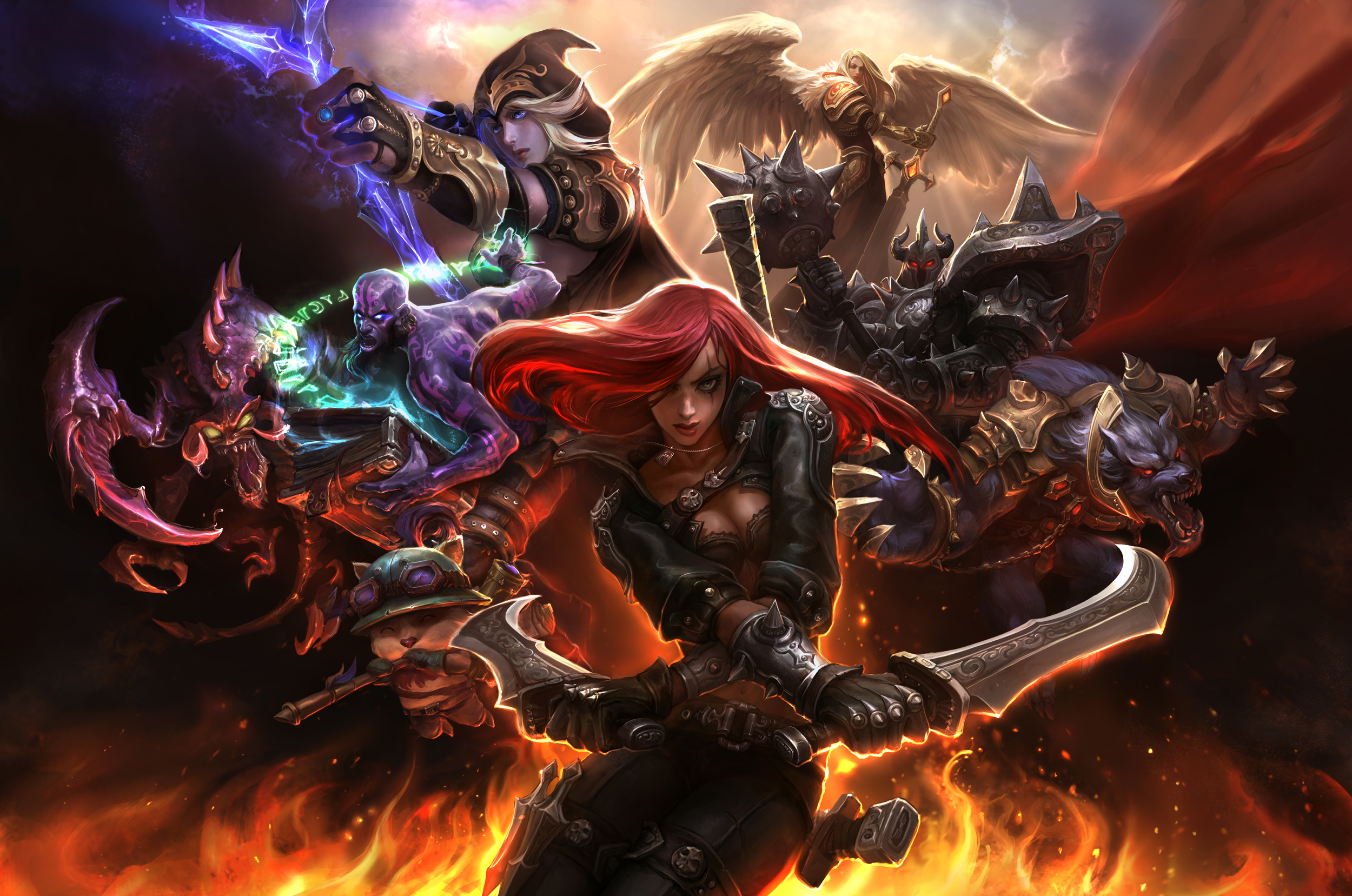 Free Download 161 Katarina League Of Legends Hd Wallpapers