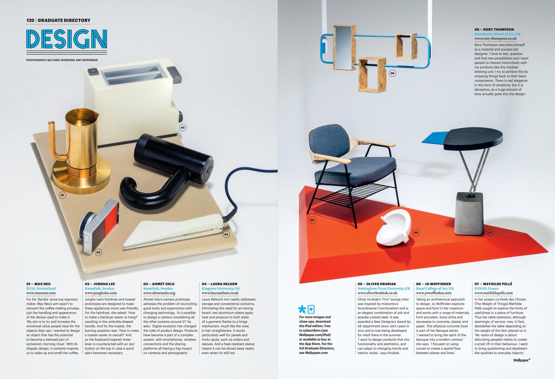 Wallpaper Magazine January 2013 Next Generation 2157x1470