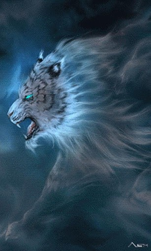 View bigger   White Tiger Live Wallpaper for Android screenshot 307x512