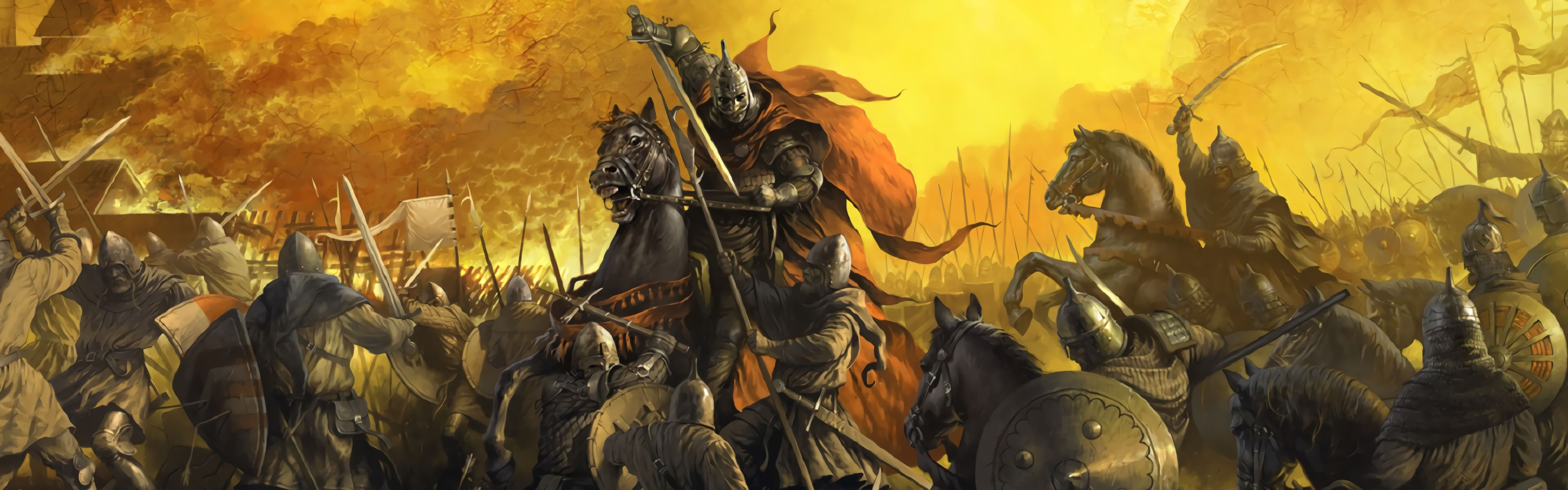 Kingdom Come Deliverance Double Wallpaper 1920x1200 V2   Album 3840x1200