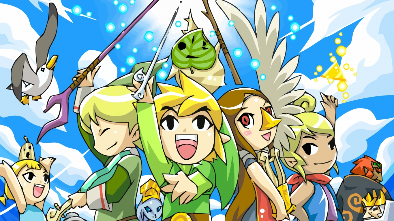 Toon Link images Toon Link Wallpapers HD wallpaper and 1366x768