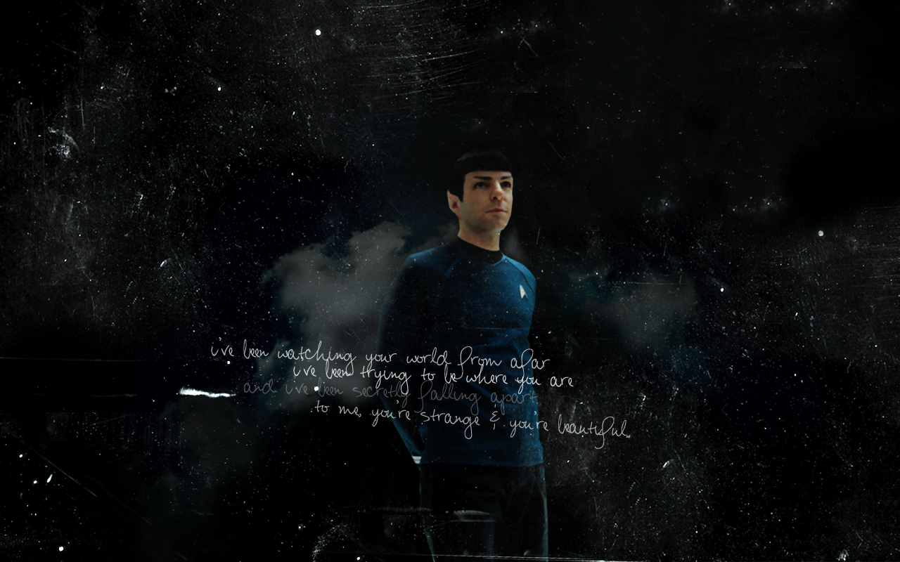 Spock   Star Trek 2009 Wallpaper 13440700 1280x800