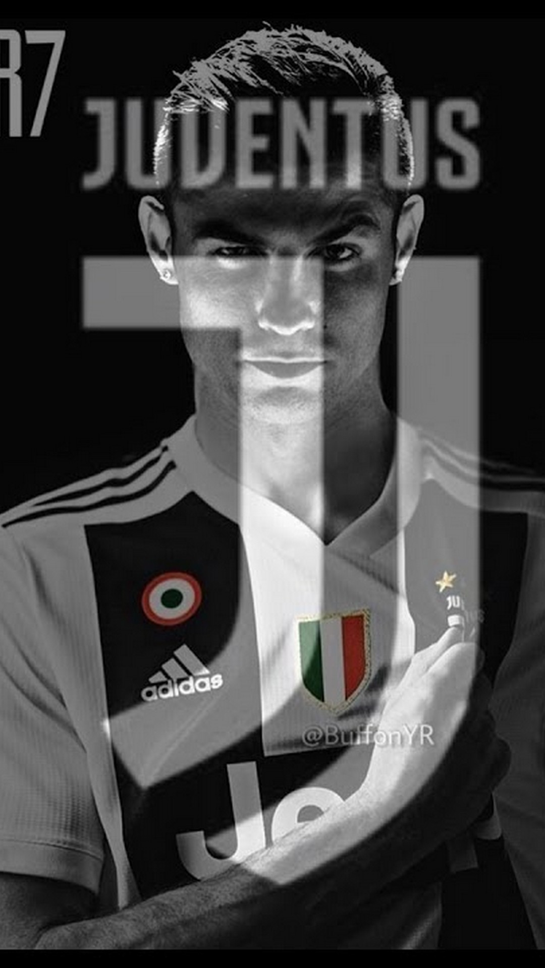 C Ronaldo Juventus Wallpaper For iPhone 2020 3D iPhone Wallpaper 1080x1920