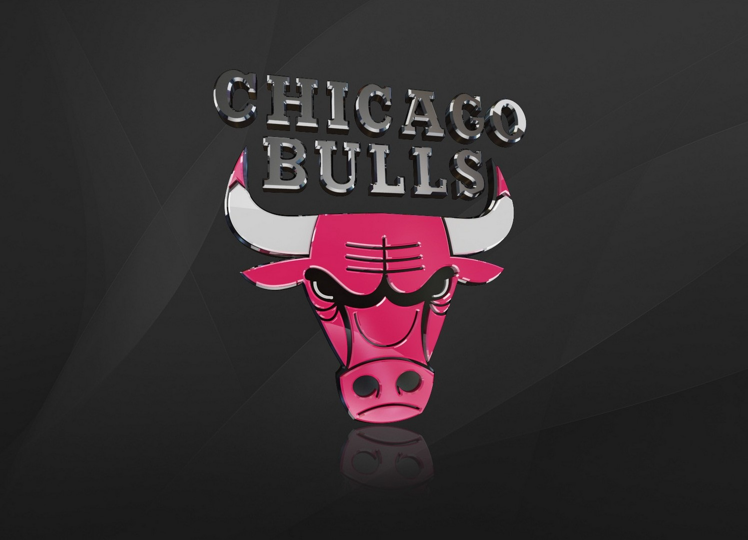 Chicago Bulls Logo Background Widescreen Wallpaper Big Fan of NBA 1495x1080