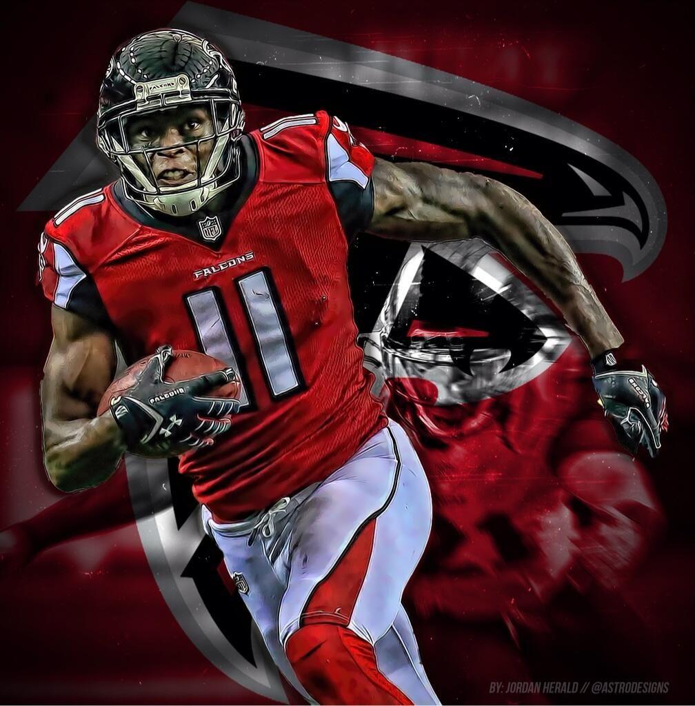 Julio Jones Wallpapers Just Good Vibe Atlanta Falcons Football 1008x1024