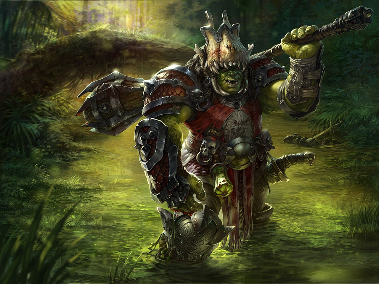 Fantasy   Orc Wallpaper 1280x960