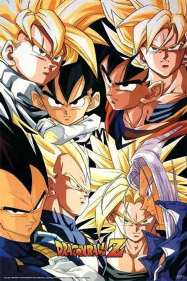 Dragon Ball Z iPhone Wallpaper HD 640x960