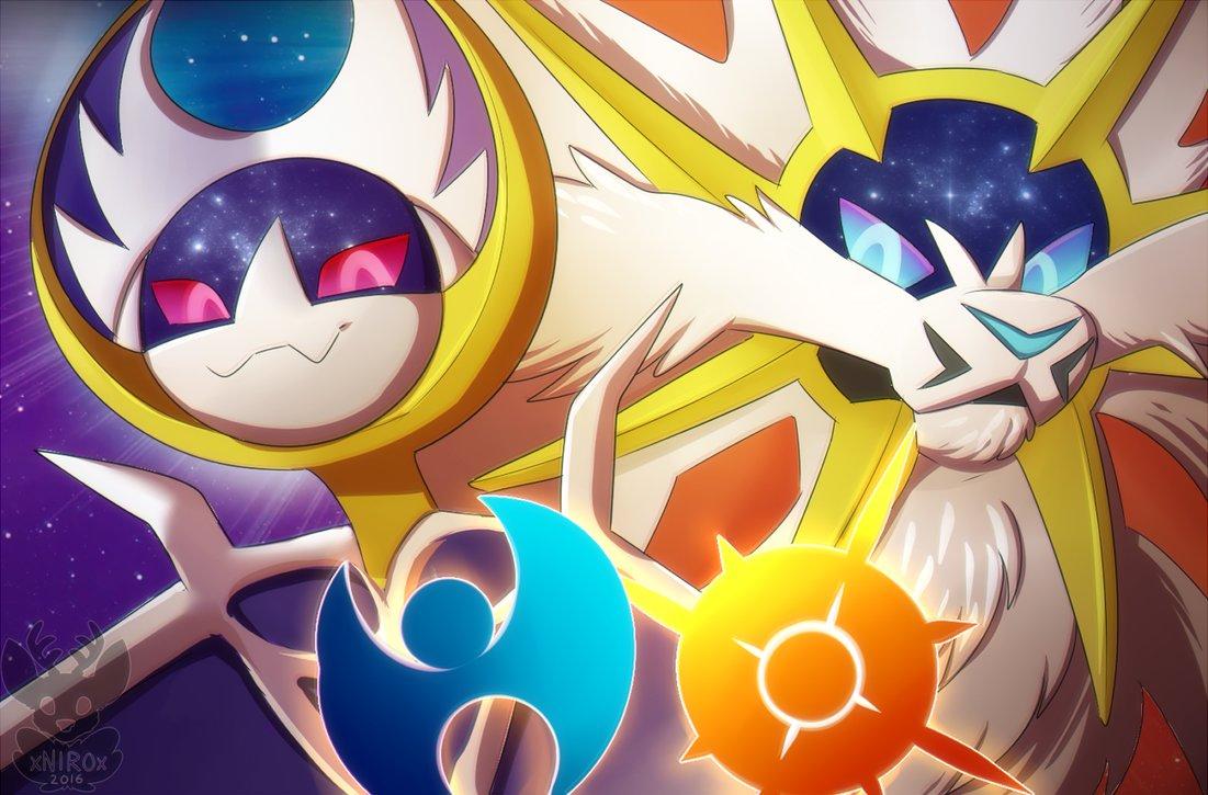 Xnir0x Pokemon   Pokemon Solgaleo And Lunala 333477   HD 1101x725