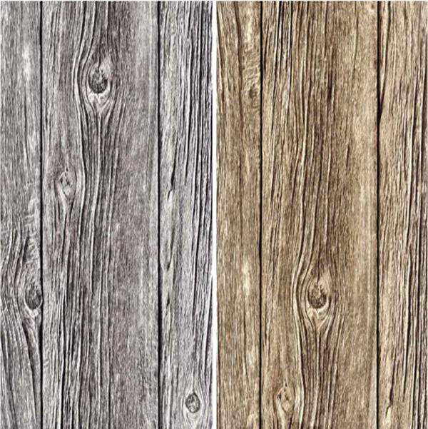 MURIVA BLUFF WOOD PANEL EFFECT REALISTIC GRAINED VINYL WALLPAPER ROLL 600x601