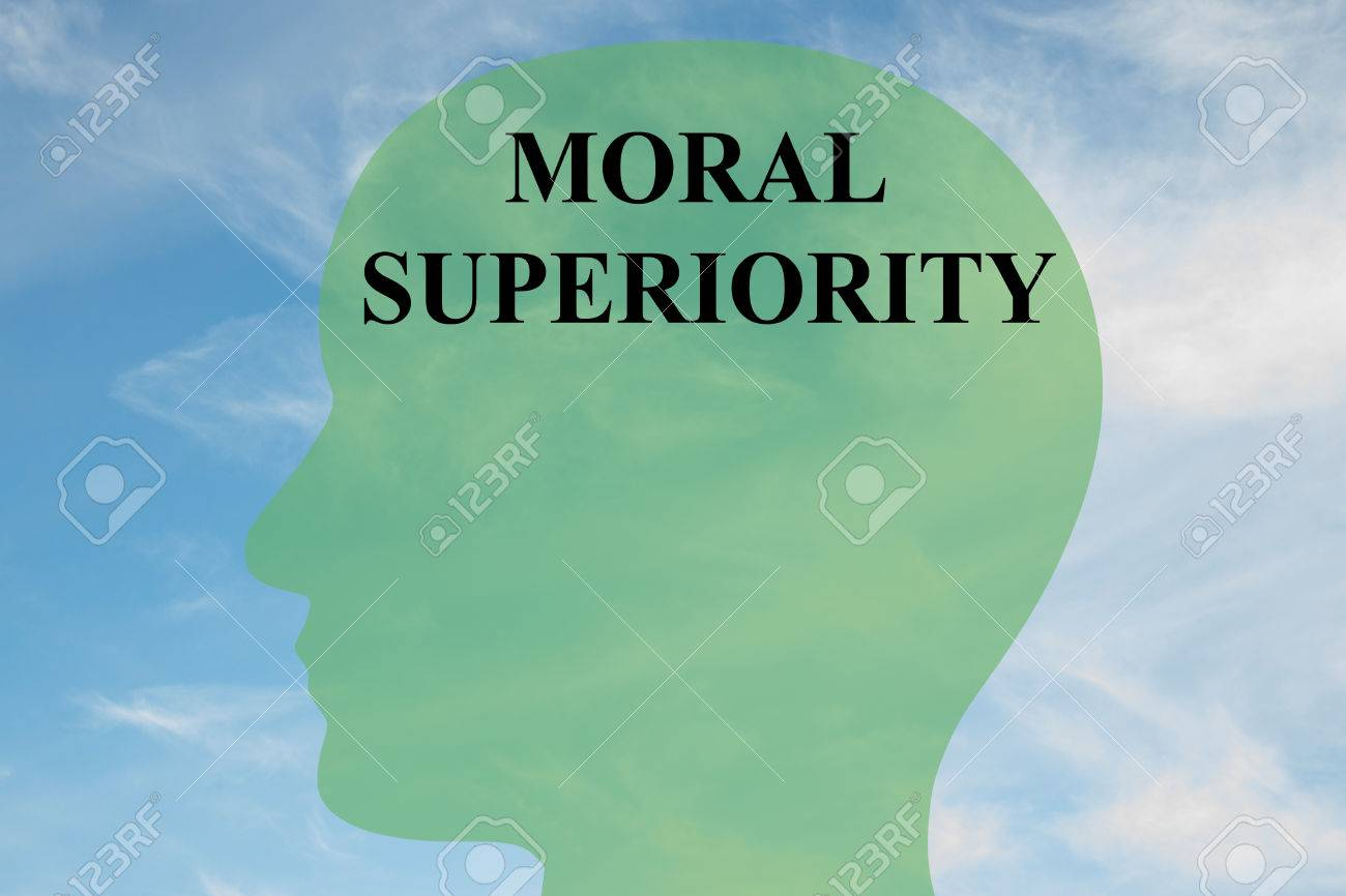 Render Illustration Of MORAL SUPERIORITY Script On Head 1300x866