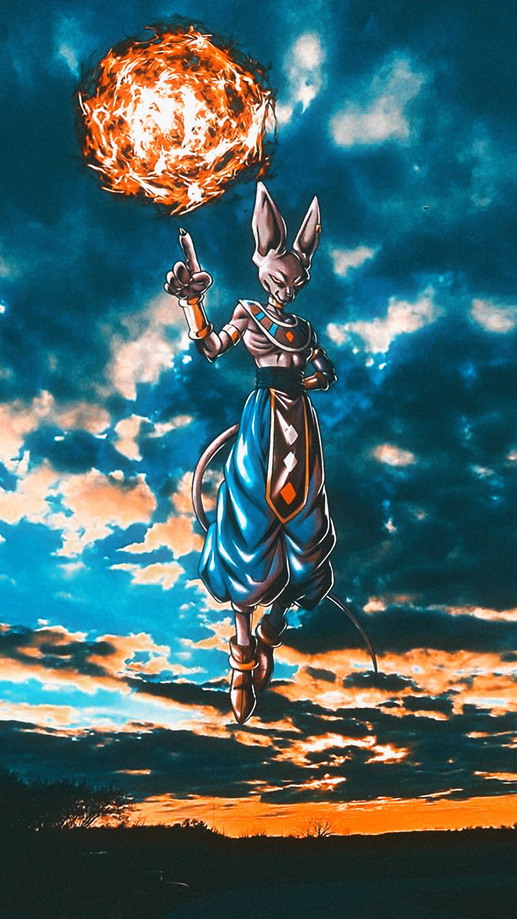 Free download 20 4K Wallpapers of DBZ and Super for Phones SyanArt Station 2160x3840 for your ...