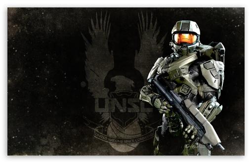 Halo 4 Masterchief HD wallpaper for Standard 43 54 Fullscreen UXGA 510x330