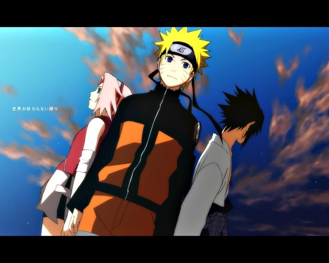 Naruto Sakura and Sasuke   Naruto Shippuuden Wallpaper 20578742 1280x1024